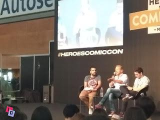 Jerome Flynn en Heroes Comic Con 2018
