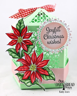 Our Daily Bread Designs Stamp/Die Duos: Joyful Christmas, Custom Dies: Luminous Lantern, Fancy Circles, Paper Collection: Christmas 2018