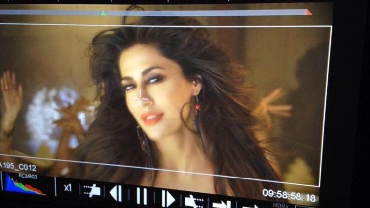 Chitrangda Singh shoots for an item number