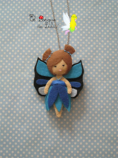 Collar-Colgante-broche-fieltro-mariposa-felt-feltro-elbosquedelulu-hechoamanoparati
