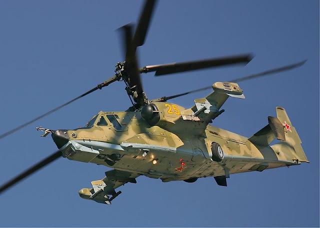 Gambar 04. Foto Helikopter Tempur Kamov Ka-50 Black Shark