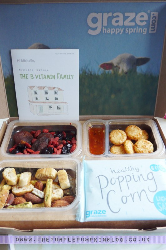 #graze box review - healthy snacks delivered!