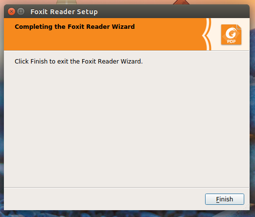 Foxit Reader Linux