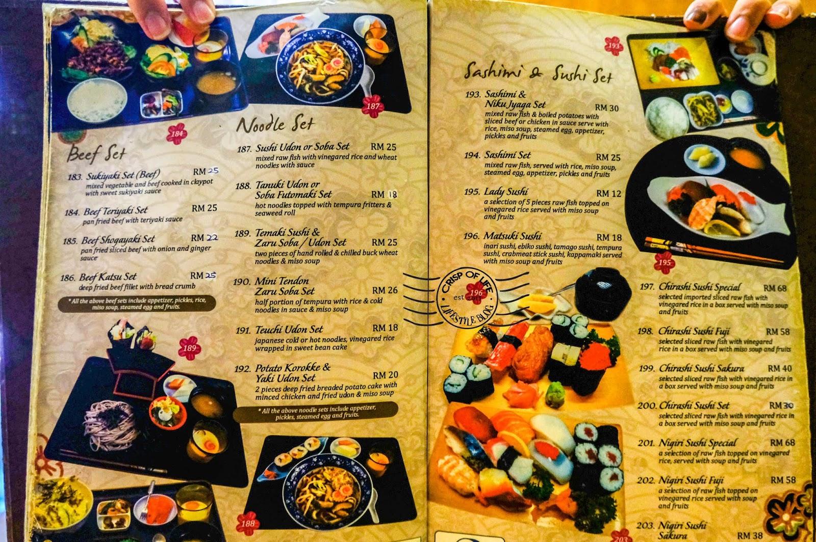 Matsuki Japanese Restaurant @ Jalan Pemenang, Georgetown, Penang