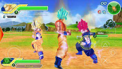 DRAGON BALL Z TAG TEAM PSP HIGHLY COMPRESSED 100 MB - GAMESMANIA
