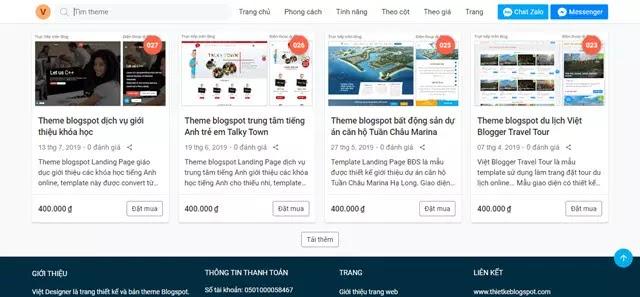 Tìm hiểu về phương pháp click tải thêm bài viết trong Blogger