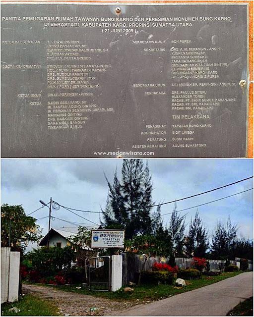 Rumah Pengasingan Bung Karno, Tanah Karo