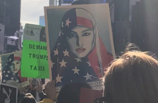 Loud Muslim Call To Prayer In Times Square As Muslims Protest Trump, Shout 'Allahu Akbar!' (VIDEO)