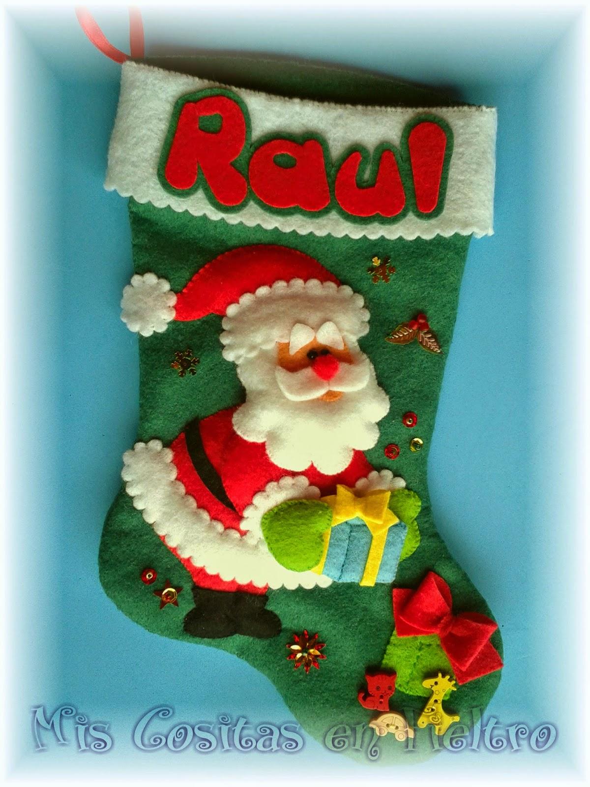 Mis cositas en fieltro productos artesanales elaborados - Manualidades para navidades ...