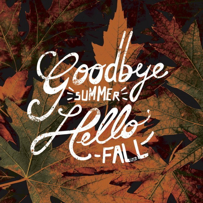 Once Upon a School Day: goodbye summer, hello fall
