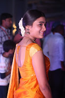 Shalini Pandey in Beautiful Orange Saree Sleeveless Blouse Choli ~  Exclusive Celebrities Galleries 020.JPG