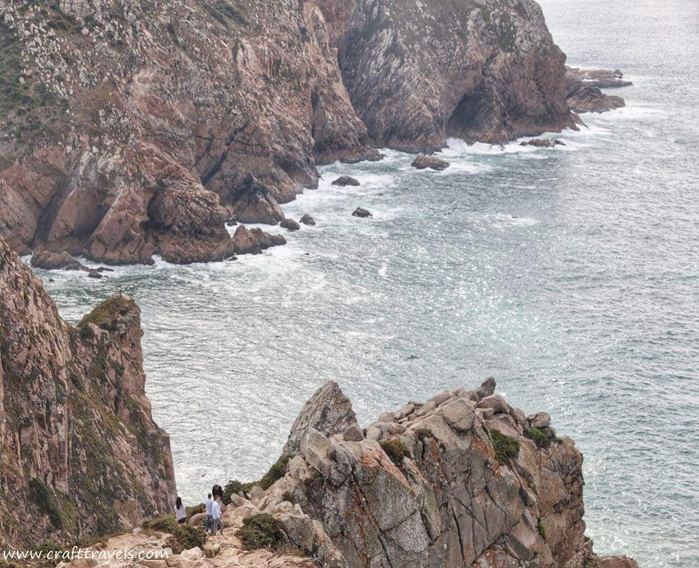 taras Europy, Portugalia Taras Europy, klif nad oceanem, Ocean Atlantycki, portugalskie klify