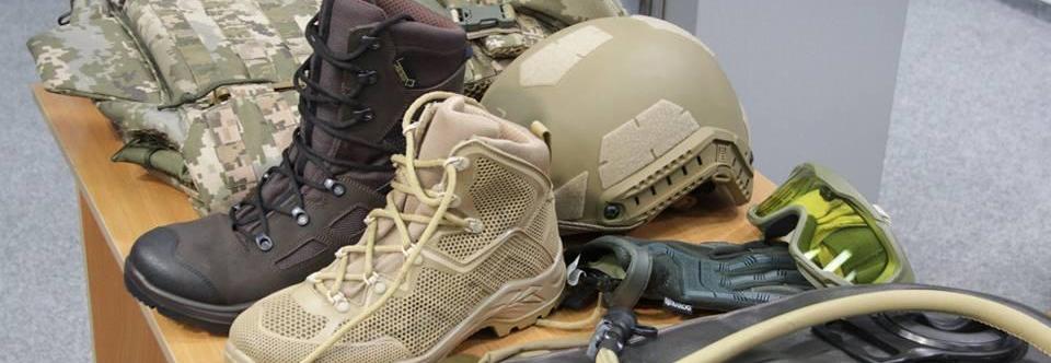 The Ukrainian army will improve military uniform next year