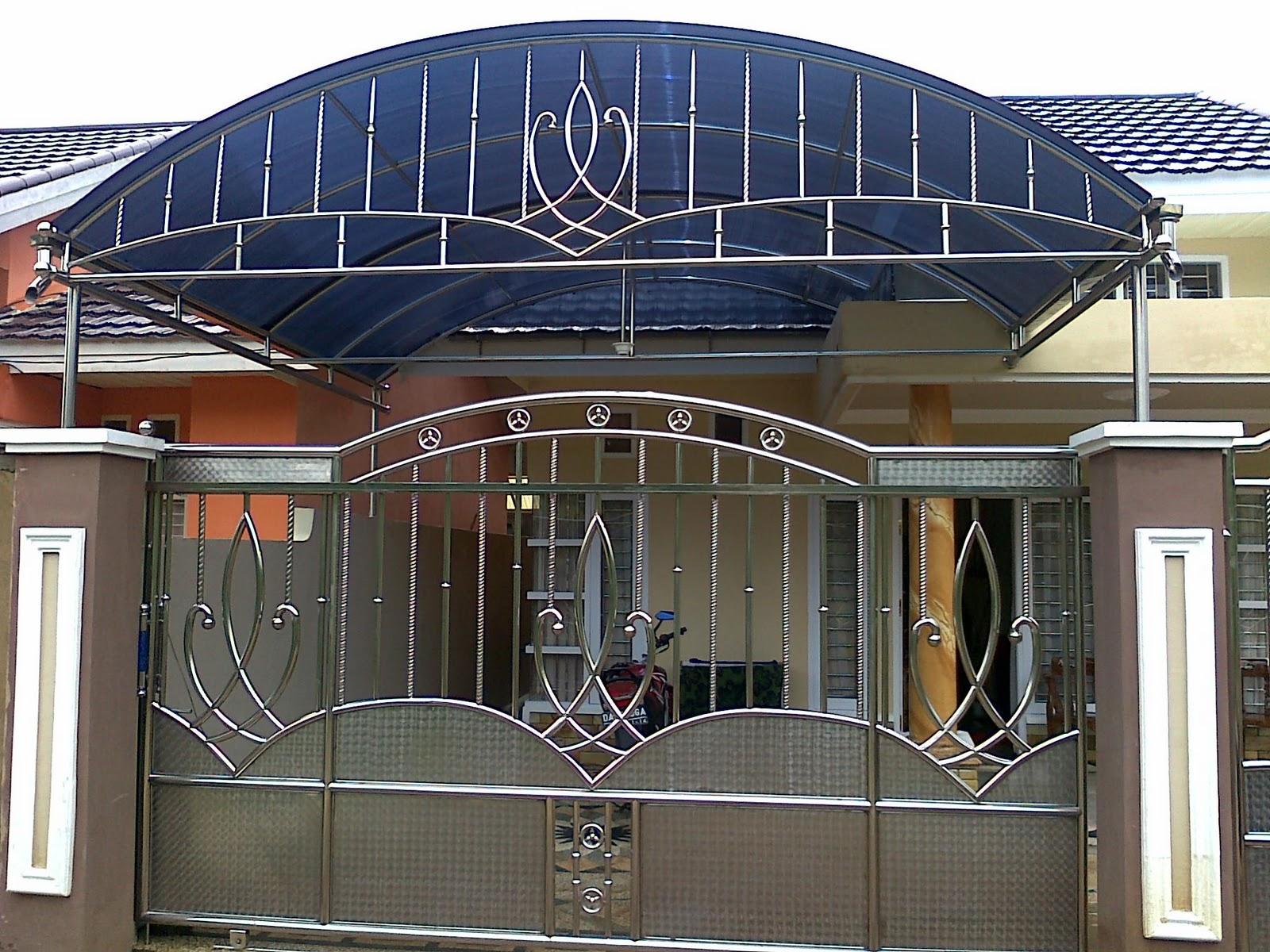 model kanopi baja ringan minimalis stainlees steel kotabaru kalsel: variasi pagar ...