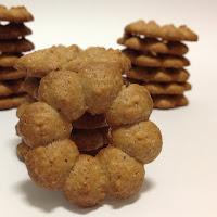 Bolachas de nutella e avelãs