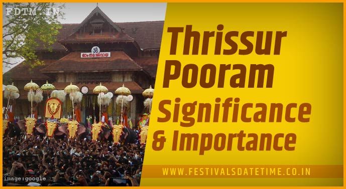 Thrissur Pooram, Malayalam Festival: Know The Religious Belief and Significance
