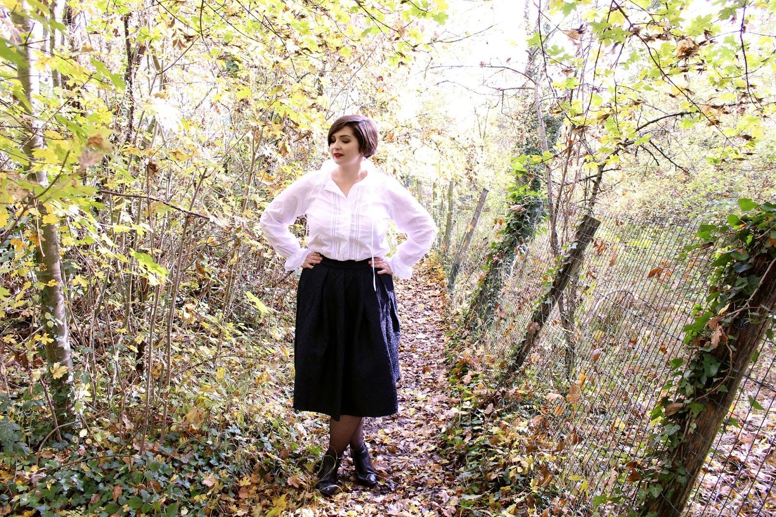 Preppy Autumn Look