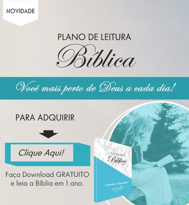 Plano de leitura biblica anual para baixar