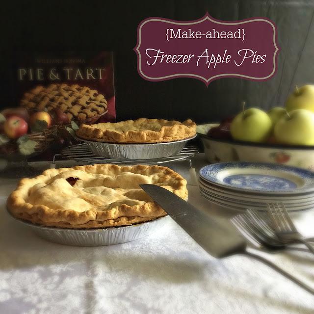 Freezer Pie: Cooking On A Budget: {Make-ahead} Freezer Apple Pies