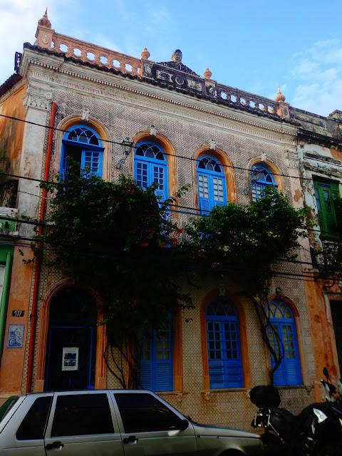 fachada de casas pelourinho