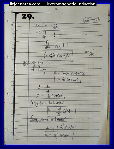 Electromagnetic Induction Notes cbse5