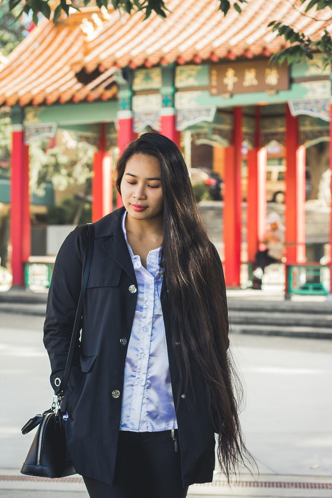 long hair seattle blogger alma bb louis vuitton