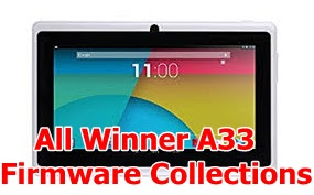 All Winner A33 Firmware