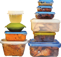 Thanksgiving Leftovers in Containers - Source: City of Portland, Oregon - https://www.portlandoregon.gov/bps/article/510411