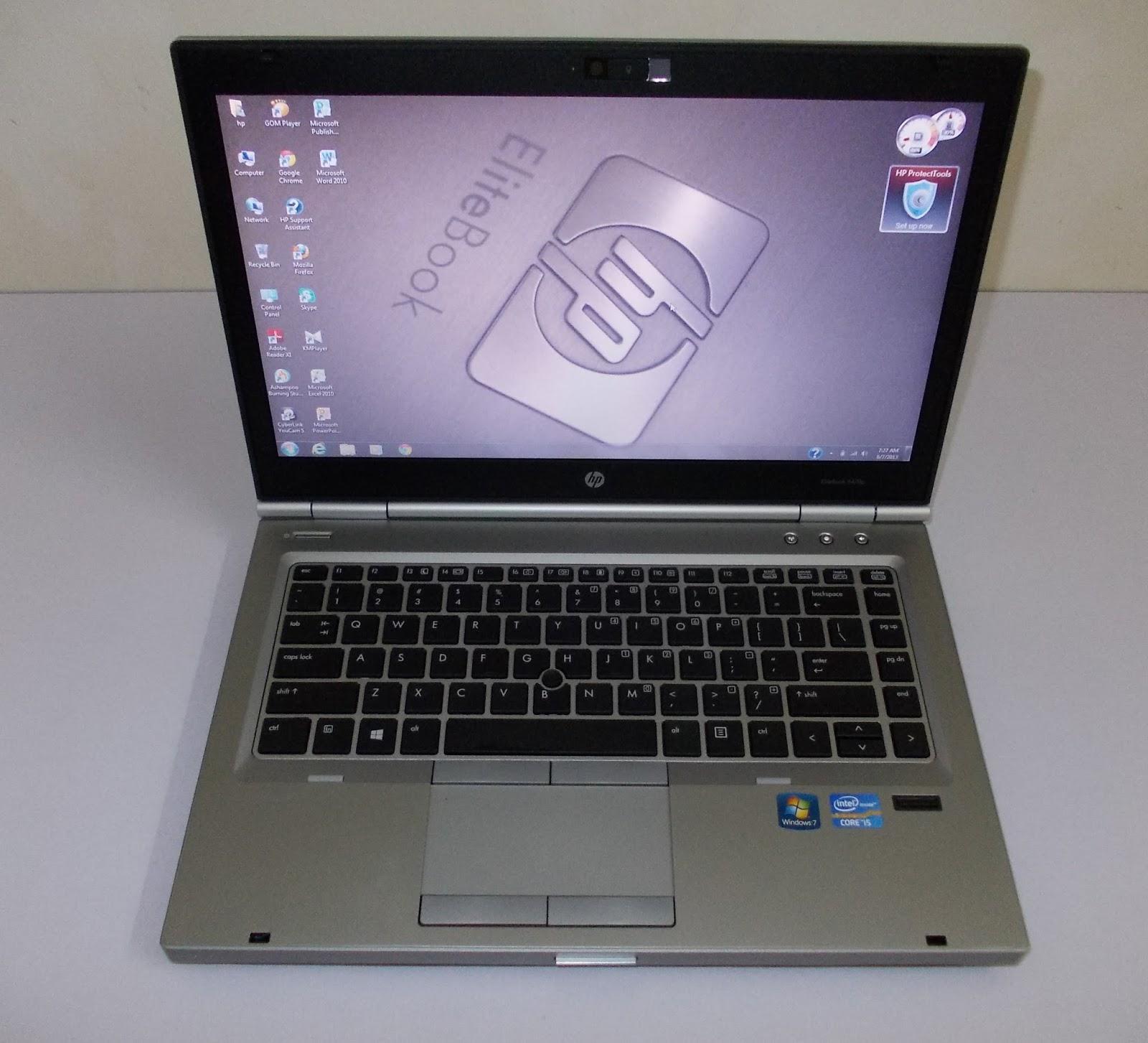 hp elitebook i5 vpro