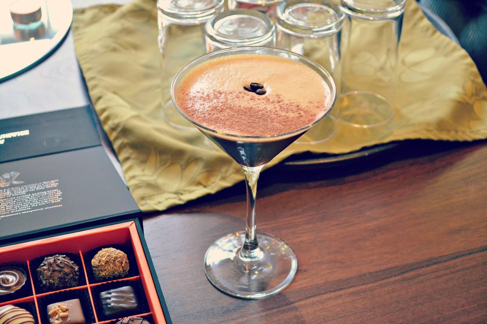 espresso cocktail at harington house bath uk