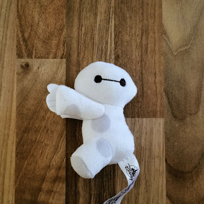 Mini soft toy of Baymax from Big Hero 6
