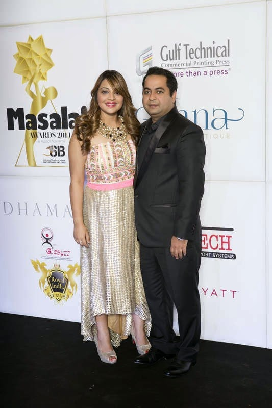 Soniya and Rajesh Lilaramani, Masala! Awards 2014 Photo Gallery