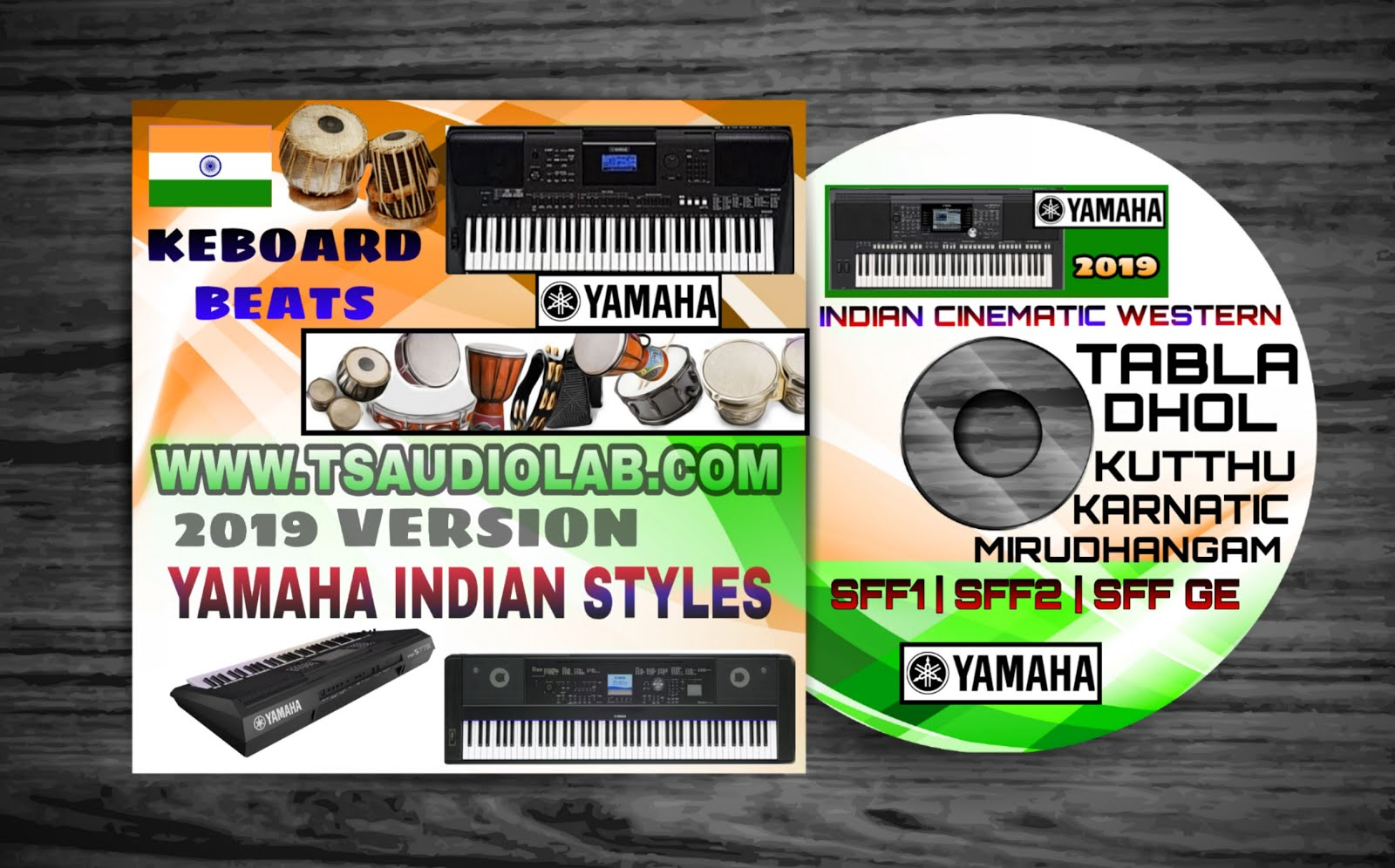TS Audio Lab Yamaha Keyboard Styles Beats for Sinhala Tamil