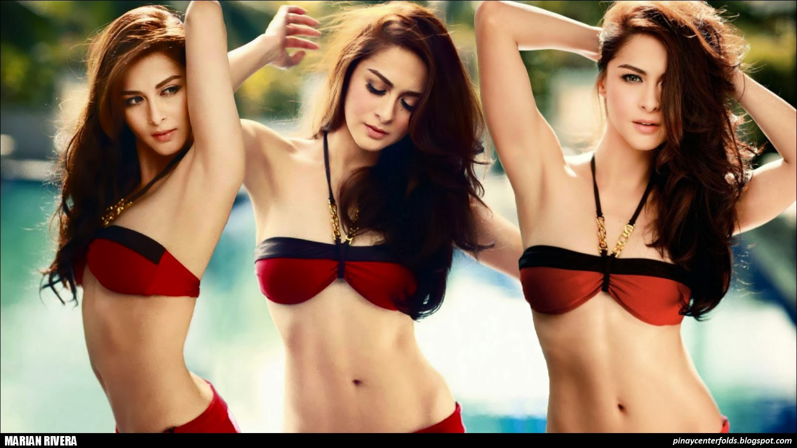Marian Rivera Braless And Showing Side Boob Philippines -3661