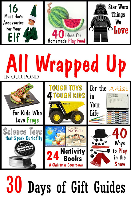 All Wrapped Up gift guide series from In Our Pond