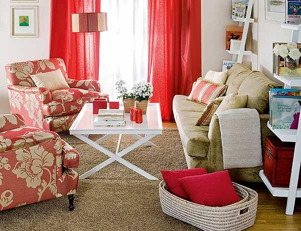 Bricolage e decora o salas pequenas decoradas - Butacas pequenas para salon ...