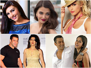 salman khan + girlfriends