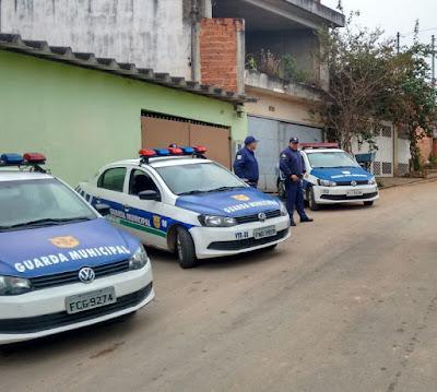 GCM de Embu das Artes executa reintegração de posse no Jd. Dos Moraes