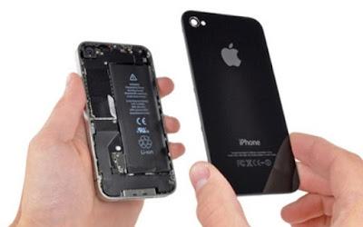 Thay mặt kính sau iPhone 4 giá bao nhiêu