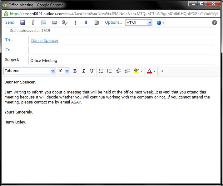 compose email template - formal email signature business email formalemail