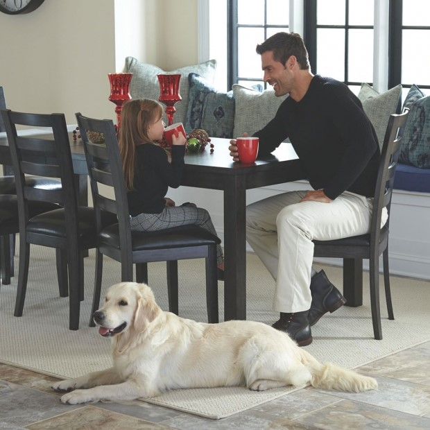 Hard surface floors are great for homes with pets