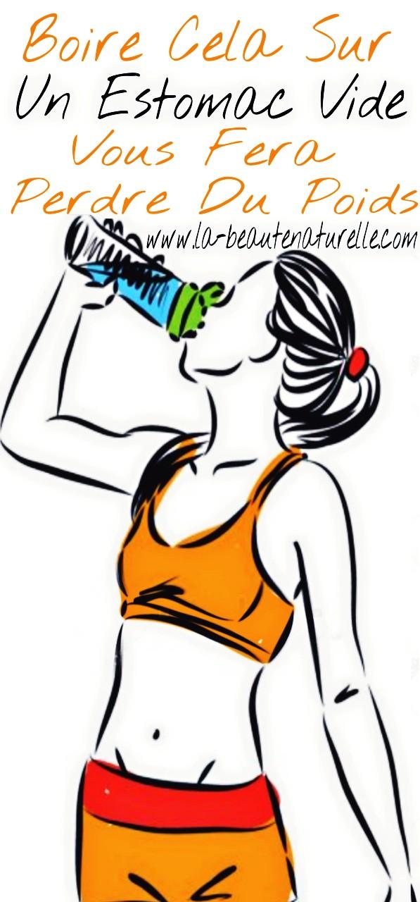 Boire cela sur un estomac vide vous fera perdre du poids