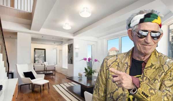 Δείτε το εντυπωσιακό σπίτι που πουλά ο Κιθ Ρίτσαρντς στην 5η Λεωφόρο