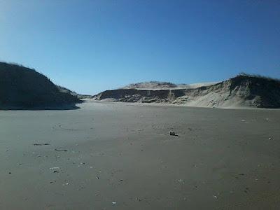 Dunas Grandes Praia do Cassino depois Ressaca