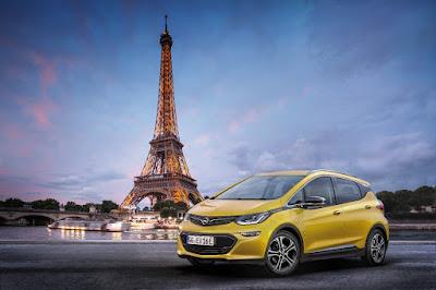 Opel Ampera-e στο Παρίσι