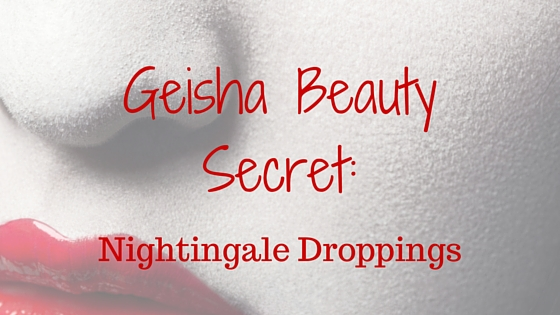 geisha beauty secret