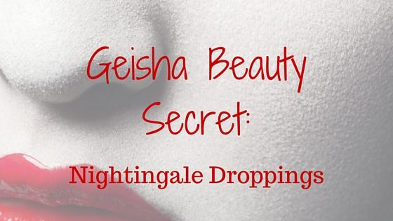 geisha beauty secret