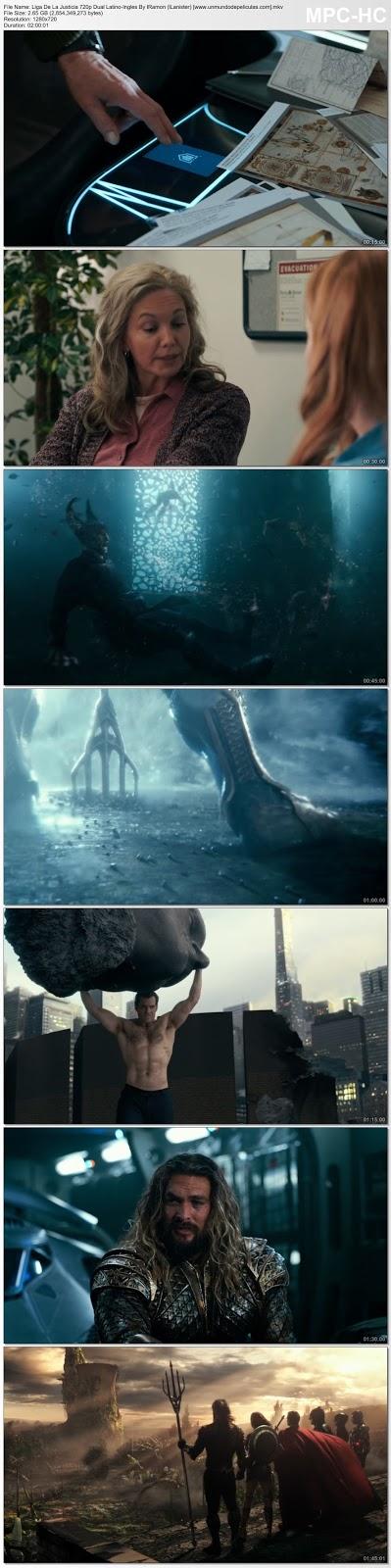 Capturas de la película.