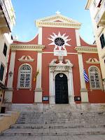 Corfu; Κέρκυρα; Kérkyra; Corfou; Corcyre; Grecia; Greece; Grèce; Ελλάδα; Panagia Spiliotissa; iglesia; catedral; church; cathedral; cathédrale; église