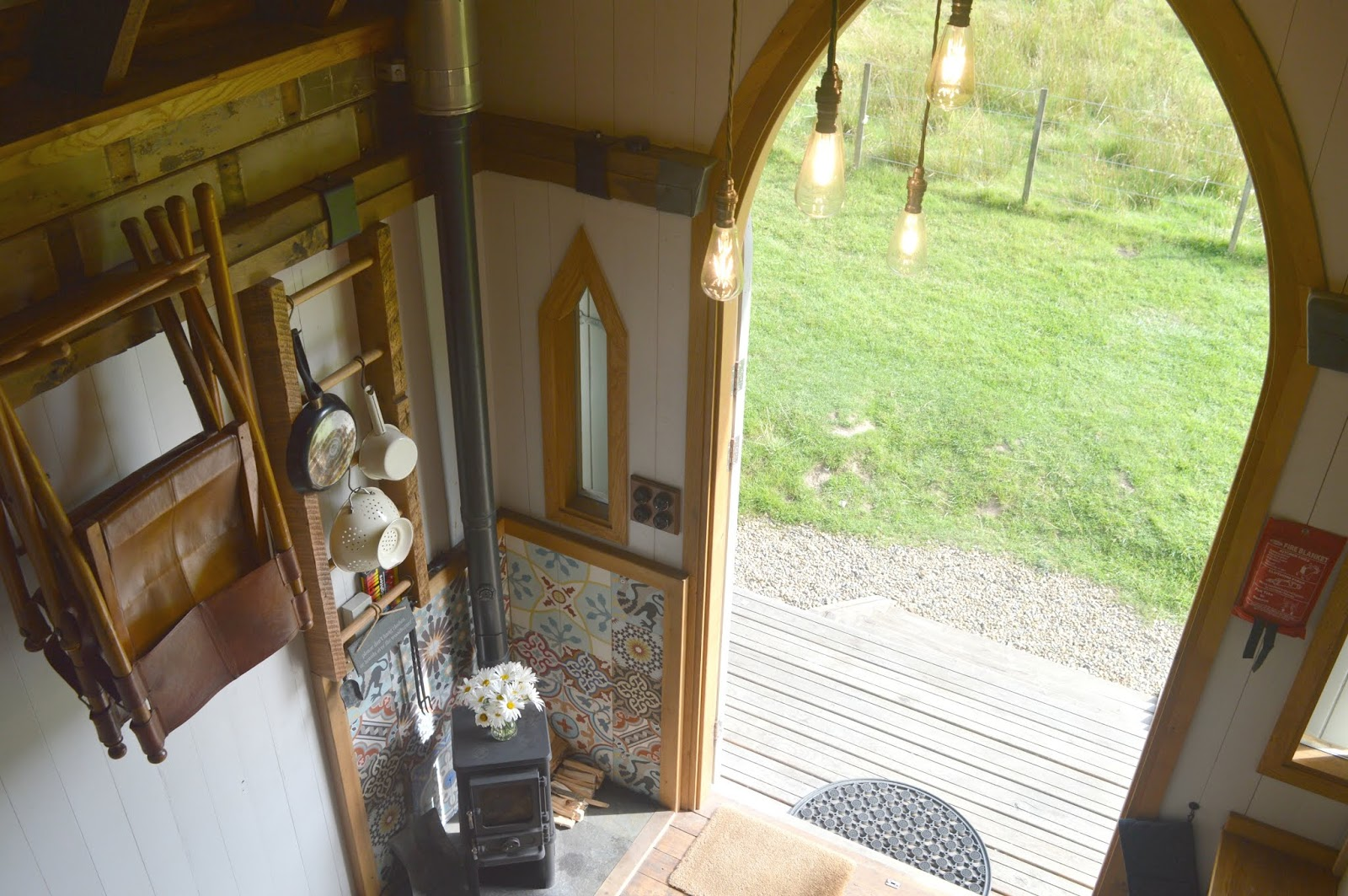 Hesleyside Huts Northumberland - Luxury Glamping Holly